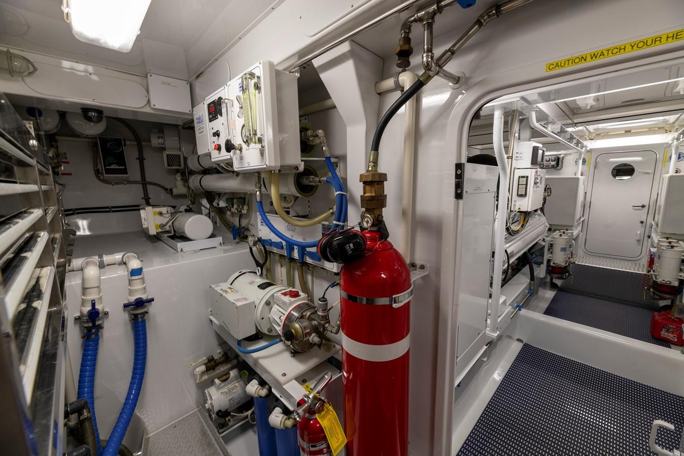 Engine Room 2011 MERRITT BOAT WORKS Enclosed Bridge  Sport Fisherman 2598745