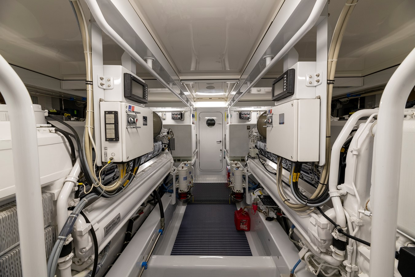 Engine Room 2011 MERRITT BOAT WORKS Enclosed Bridge  Sport Fisherman 2598746