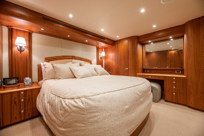 Master Stateroom - Port 2011 MERRITT BOAT WORKS Enclosed Bridge  Sport Fisherman 2598724