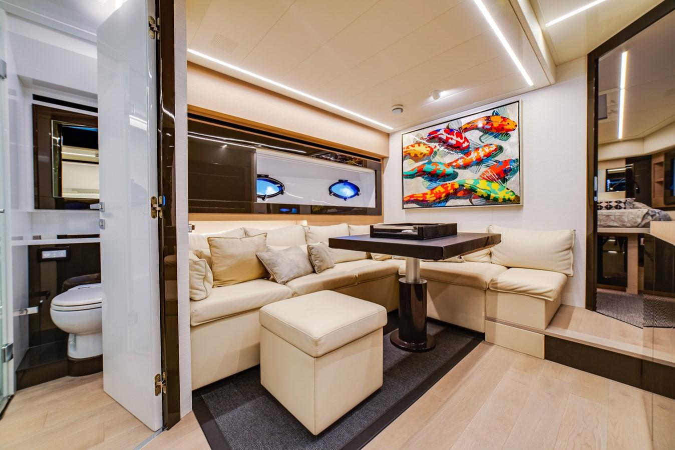 Lower Deck  2017 PERSHING Motor yacht Motor Yacht 2707127