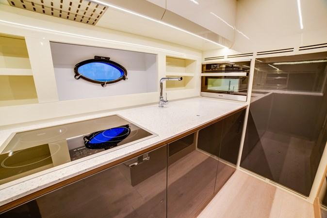 Galley 3 2017 PERSHING Motor yacht Motor Yacht 2707125