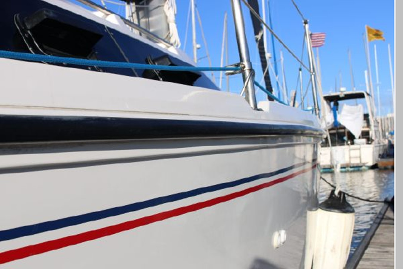 1993 HUNTER Vision 36 Cruising Sailboat 2599542