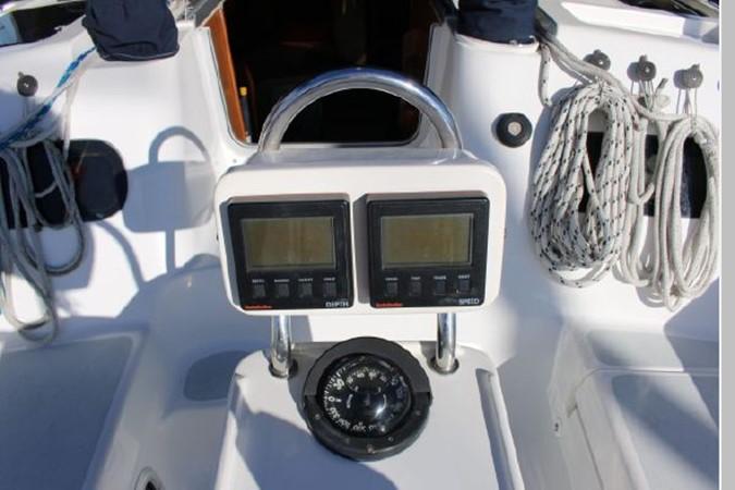 1993 HUNTER Vision 36 Cruising Sailboat 2599522
