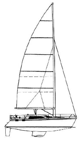 1993 HUNTER Vision 36 Cruising Sailboat 2599563
