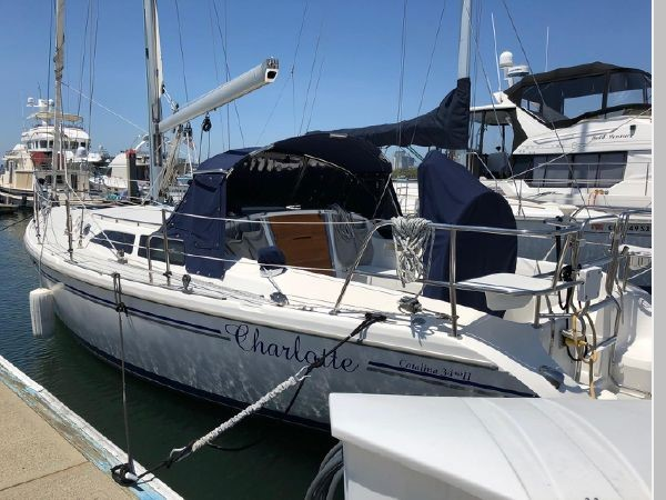 2006 CATALINA 34 MKII Cruising/Racing Sailboat 2599848