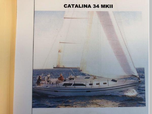 2006 CATALINA 34 MK II Cruising Sailboat 2599882