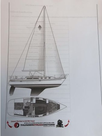2006 CATALINA 34 MK II Cruising Sailboat 2599883