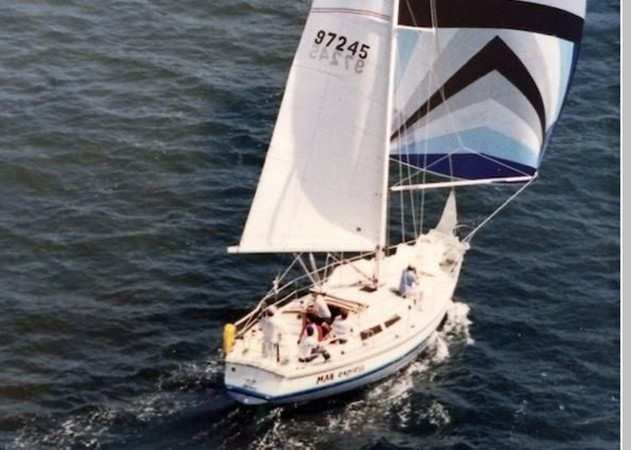 1987 CATALINA 34T Cruising/Racing Sailboat 2599937