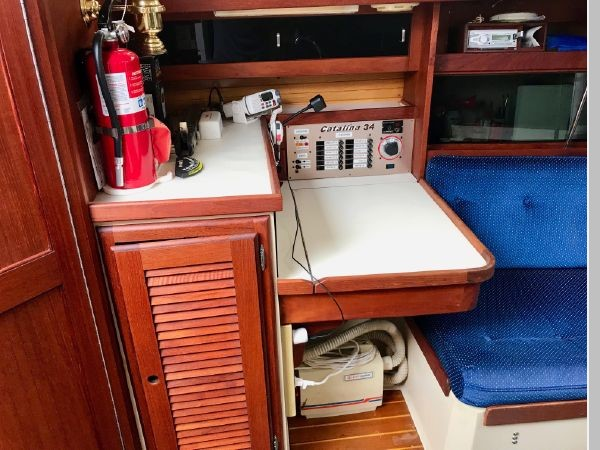 1987 CATALINA 34T Cruising/Racing Sailboat 2599999