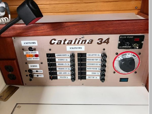 1987 CATALINA 34T Cruising/Racing Sailboat 2600004