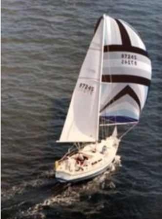 1987 CATALINA 34T Cruising/Racing Sailboat 2600033