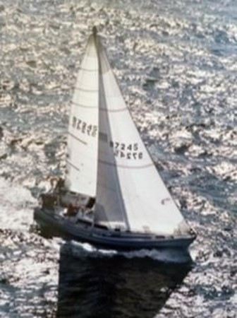 1987 CATALINA 34T Cruising/Racing Sailboat 2600034