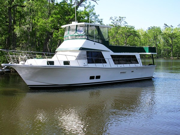 1982 BLUE WATER BOATS Coastal Cruiser Houseboat 2601350