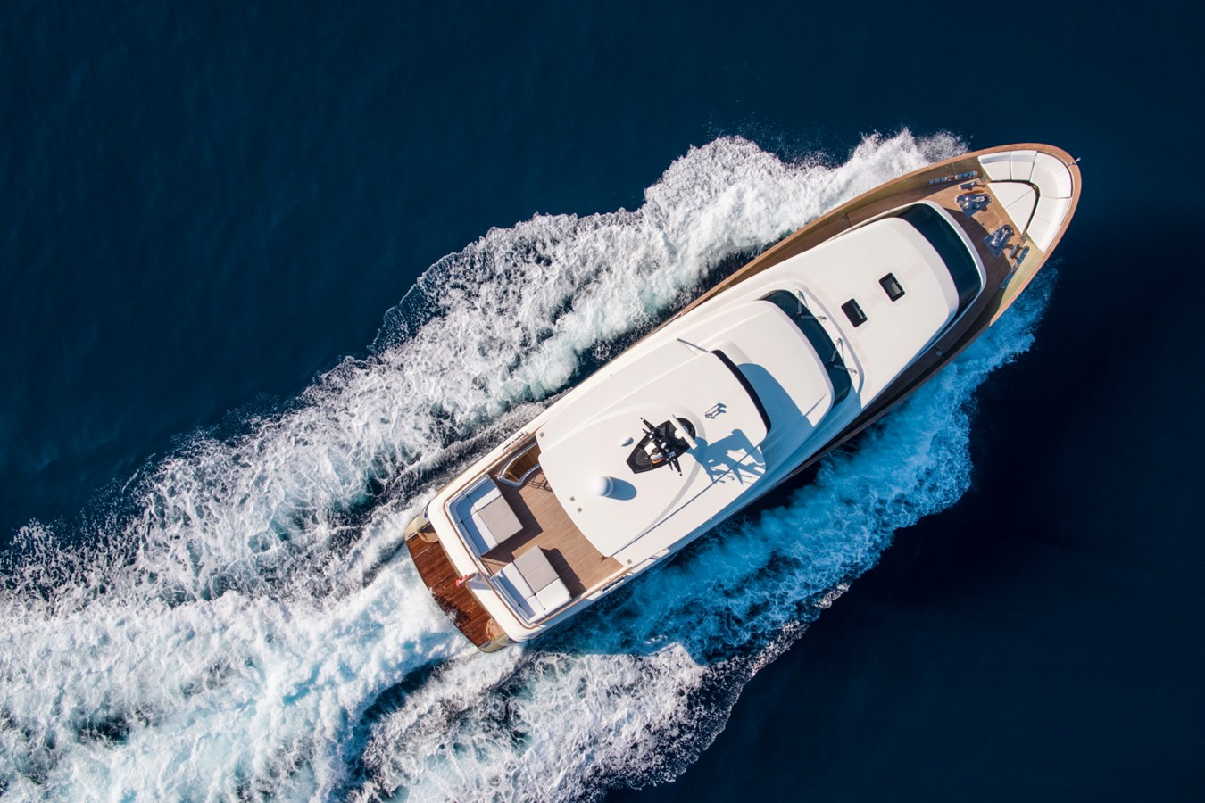 Cruising bird´s eye 2010 SANLORENZO 92 SD Motor Yacht 2602768
