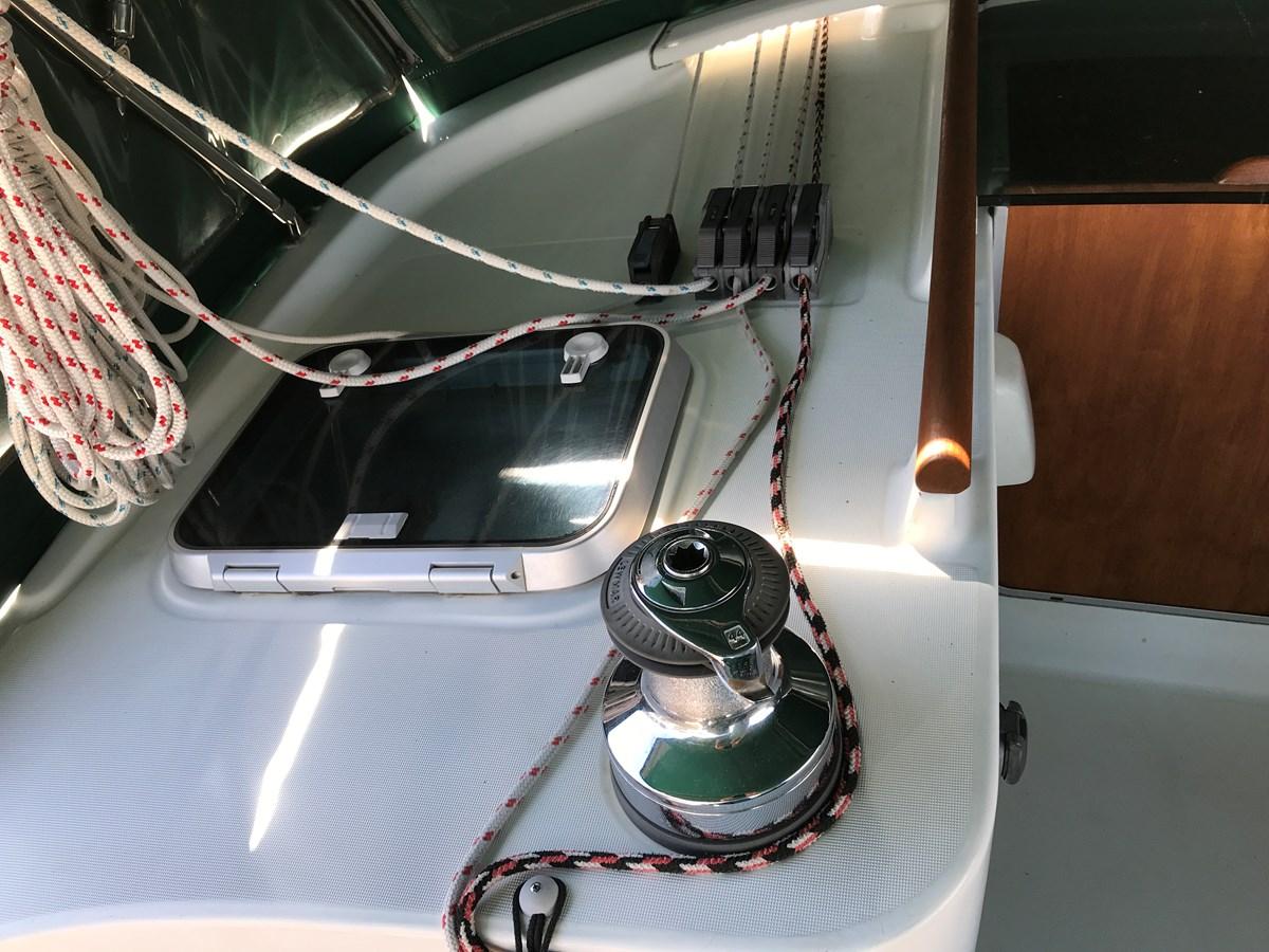port winch 1998 BENETEAU Oceanis 461 Aft Cockpit 2603383