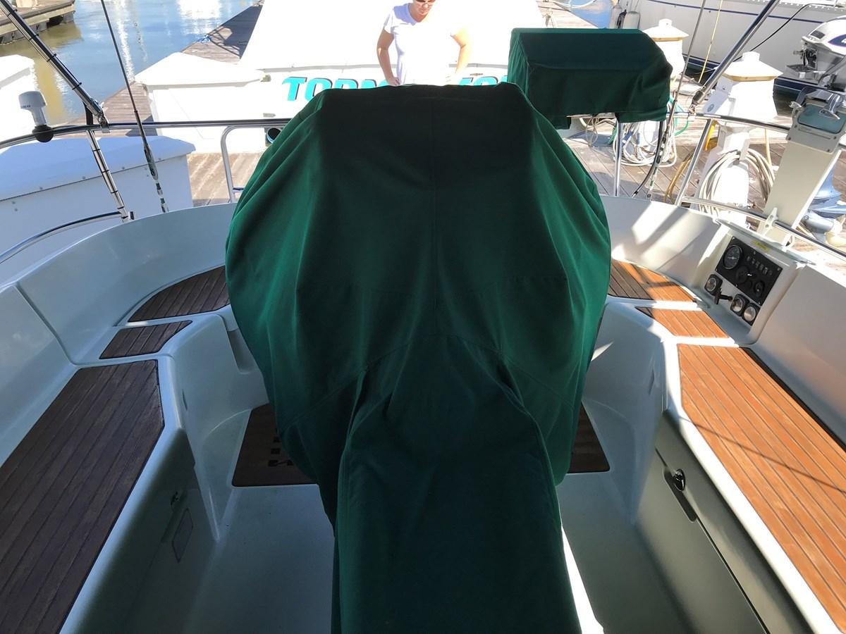 teak cockpit 1998 BENETEAU Oceanis 461 Aft Cockpit 2603395
