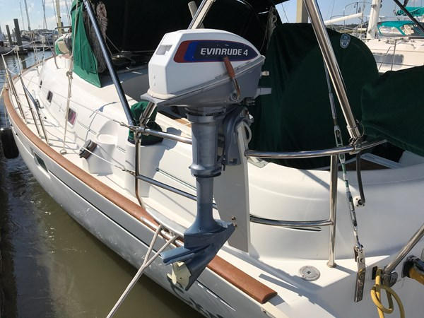 dinghy outboard 1998 BENETEAU Oceanis 461 Aft Cockpit 2603392
