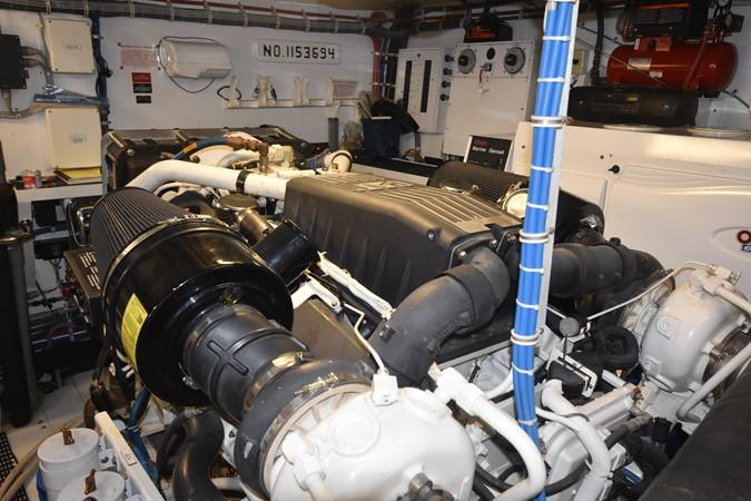 59 2004 HATTERAS 80 Motoryacht Motor Yacht 2666504