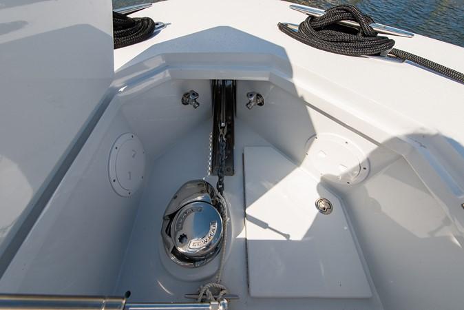 Bow 2018 CUSTOM CAROLINA 57' Walkaround Sport Fisherman 2608269