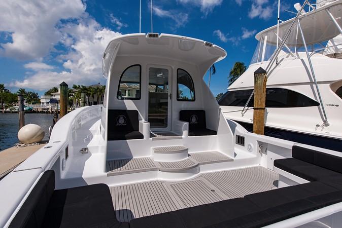 Cockpit 2018 CUSTOM CAROLINA 57' Walkaround Sport Fisherman 2608278