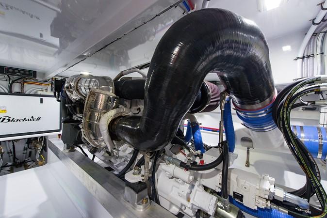 Engine Room 2018 CUSTOM CAROLINA 57' Walkaround Sport Fisherman 2608285