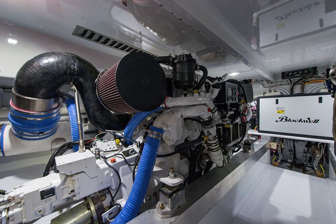 Engine Room 2018 CUSTOM CAROLINA 57' Walkaround Sport Fisherman 2608286