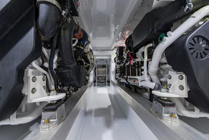 Engine Room 2018 CUSTOM CAROLINA 57' Walkaround Sport Fisherman 2608288