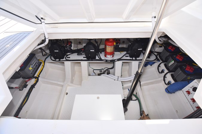 Engine Room Access 2020 Cruisers Yachts 38 GLS Runabout 2693141