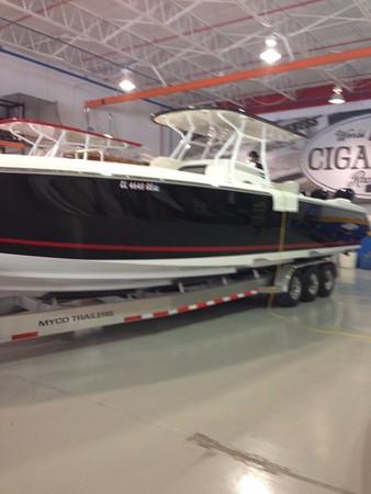 2012 CIGARETTE 39 TOP FISH Center Console 2605144
