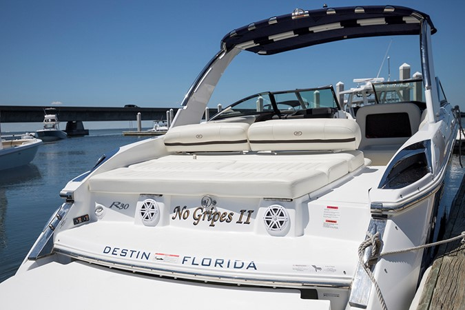 Aft/transom seating area view 2 2016 COBALT R30 Deck Boat 2605409