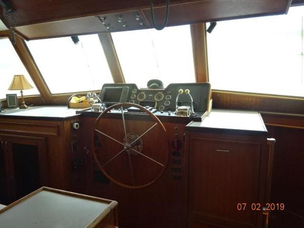 "1975 HATTERAS ""58"" LRC Trawler 2605663"