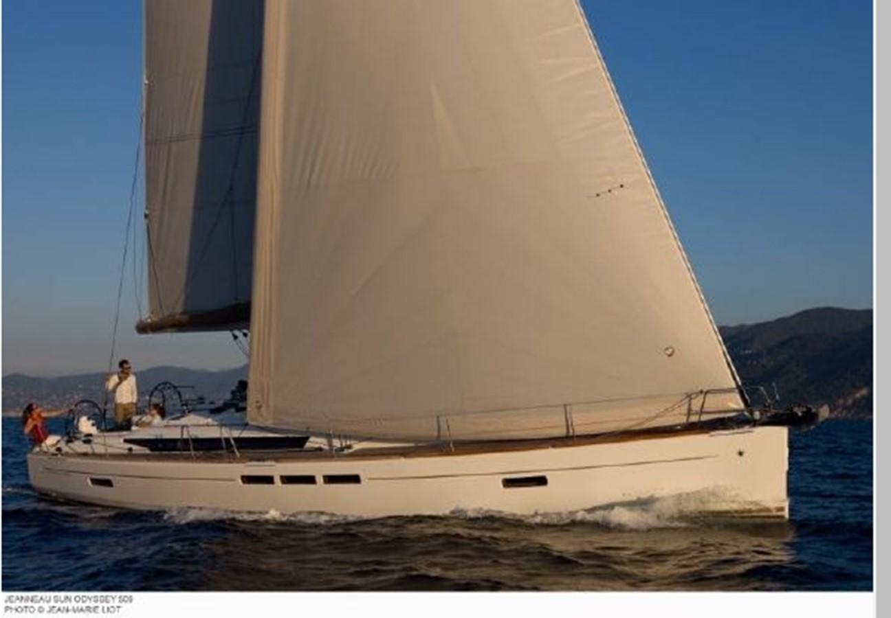 2019 JEANNEAU Sun Odyssey 519 Cruising Sailboat 2606890