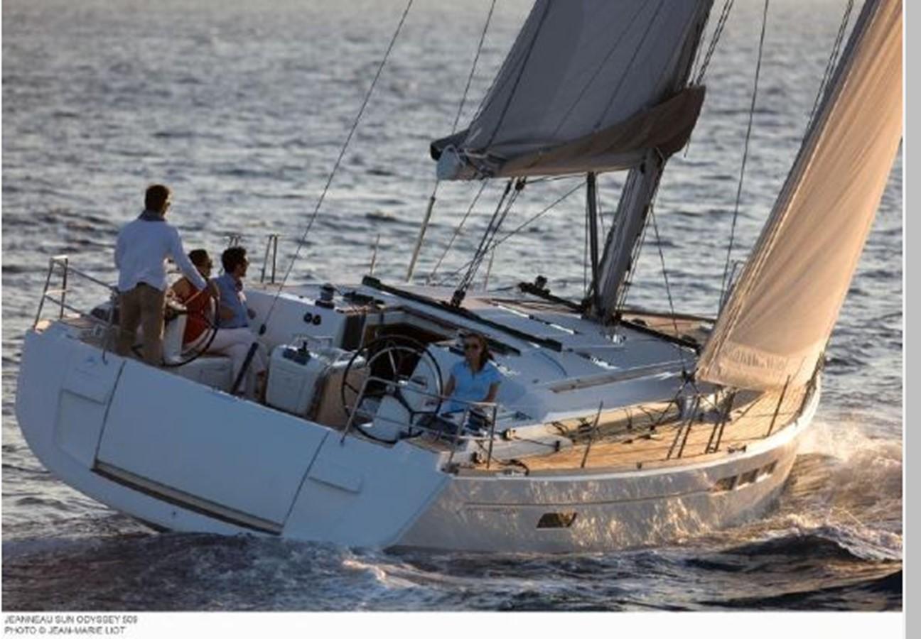 2019 JEANNEAU Sun Odyssey 519 Cruising Sailboat 2606891