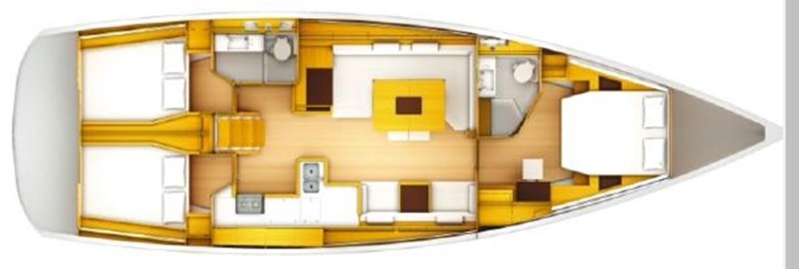 2019 JEANNEAU Sun Odyssey 519 Cruising Sailboat 2606893