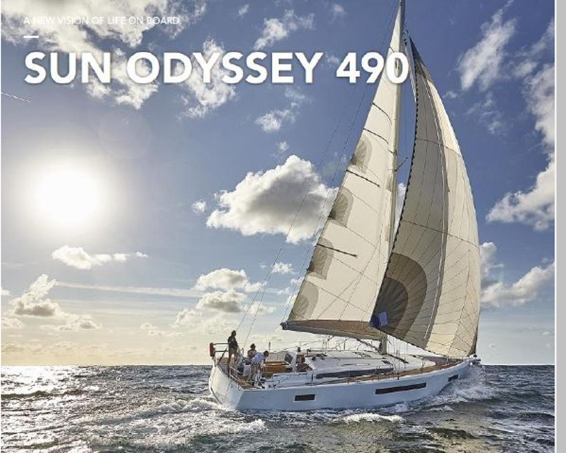 2019 JEANNEAU Sun Odyssey 490 Cruising Sailboat 2607060