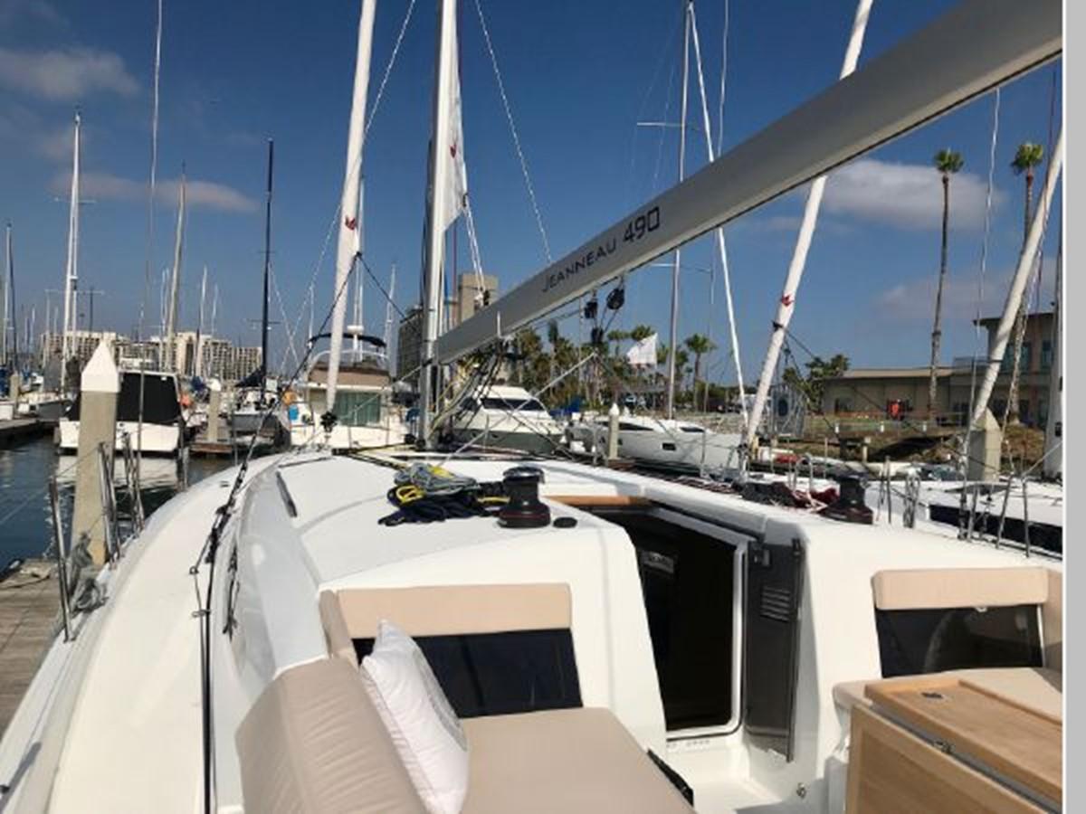 2019 JEANNEAU Sun Odyssey 490 Cruising Sailboat 2607092