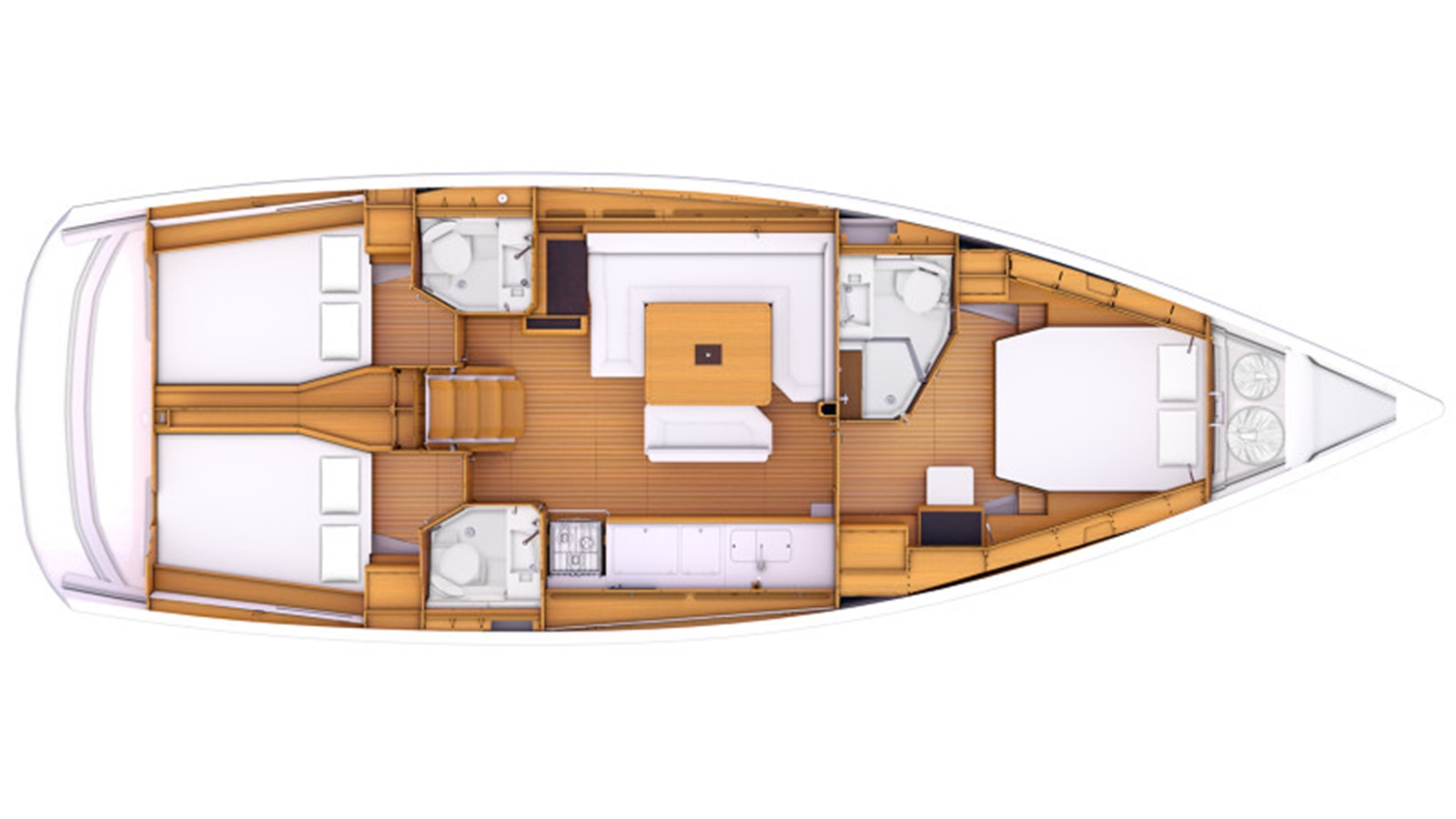 2020 JEANNEAU 479 Sun Odyssey Cruising Sailboat 2607201