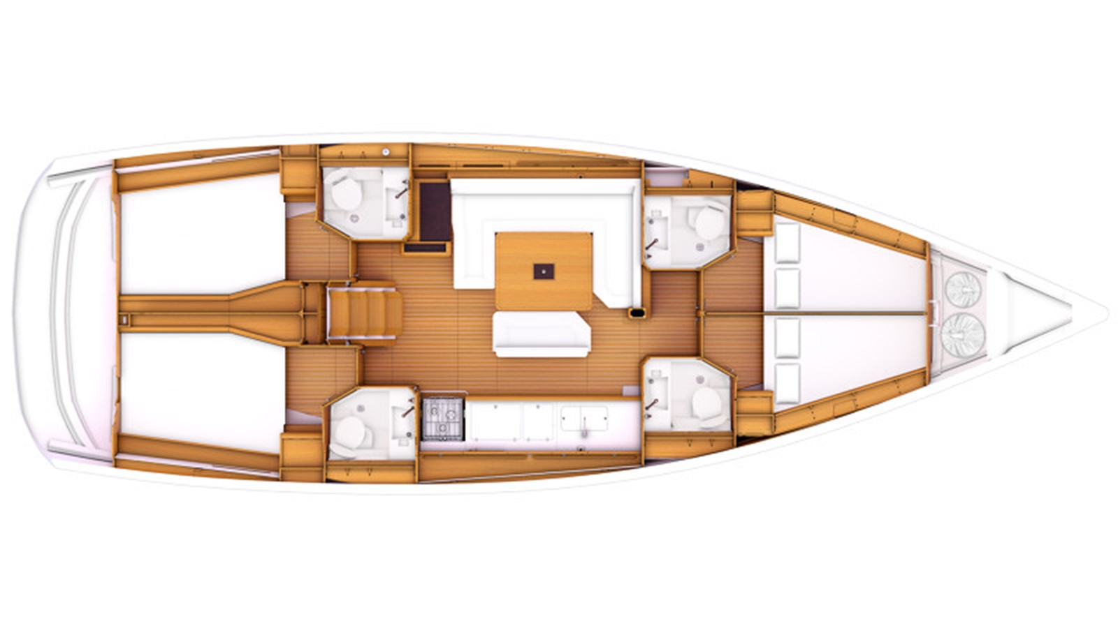 2020 JEANNEAU 479 Sun Odyssey Cruising Sailboat 2607202