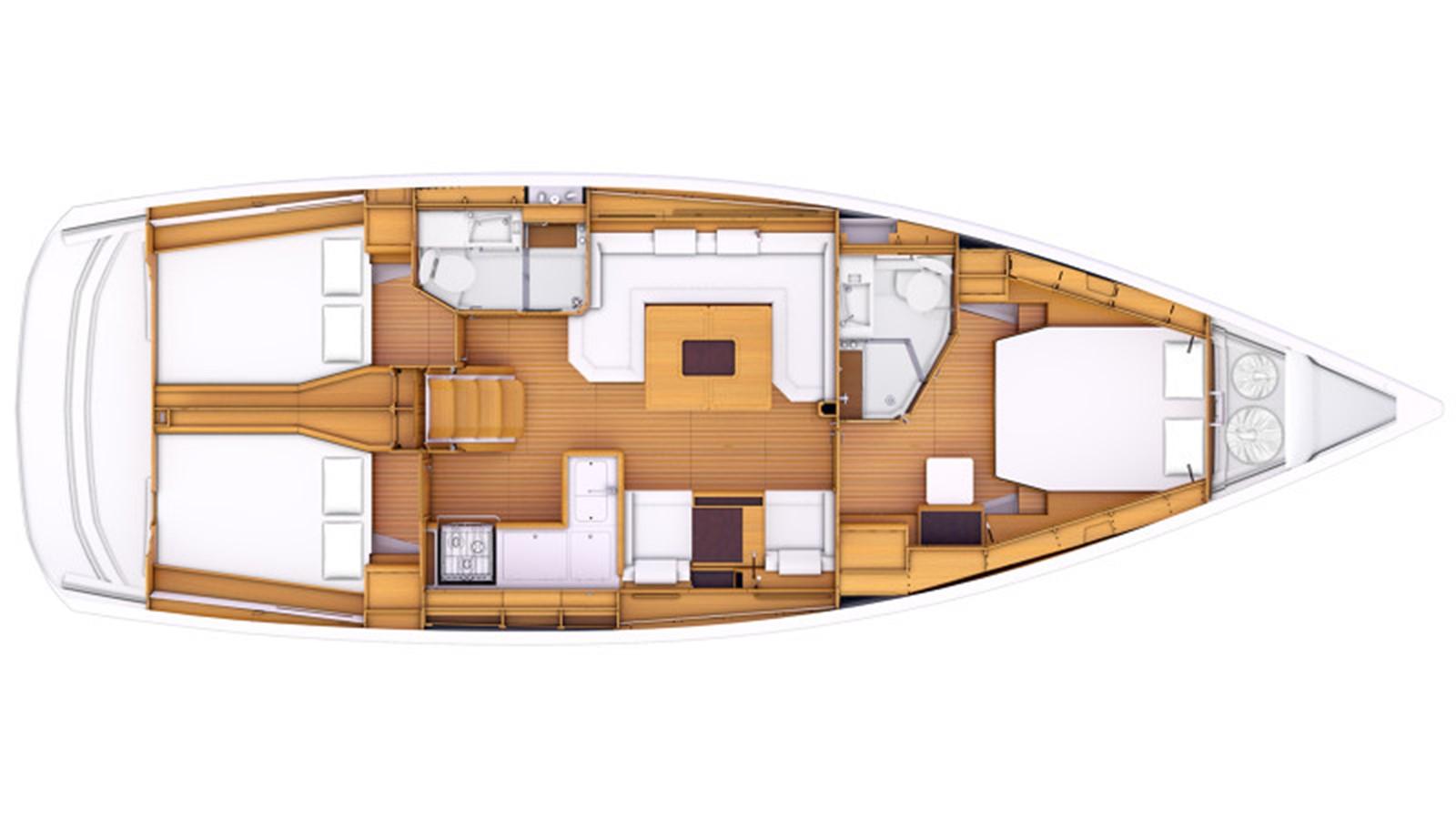 2020 JEANNEAU 479 Sun Odyssey Cruising Sailboat 2607203