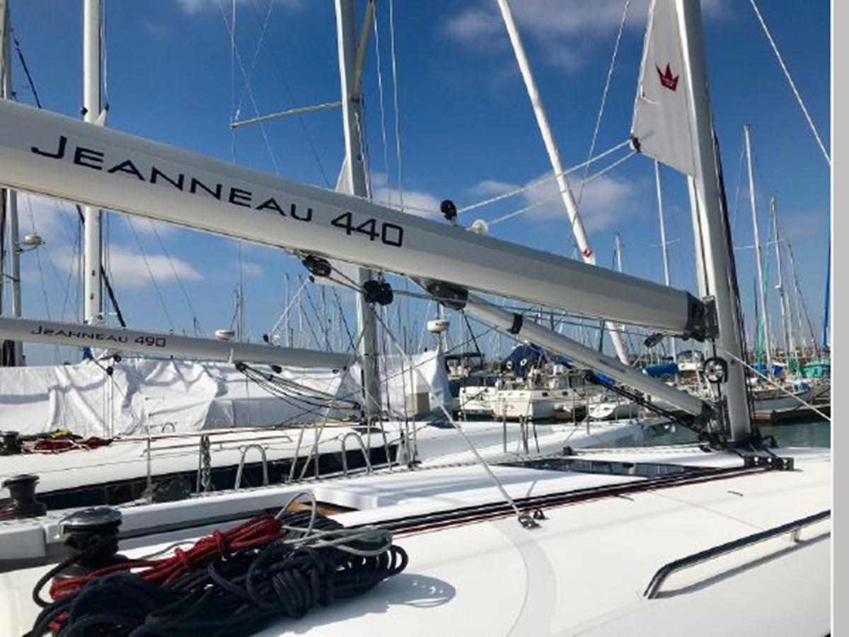 2019 JEANNEAU Sun Odyssey 440 Cruising Sailboat 2607245