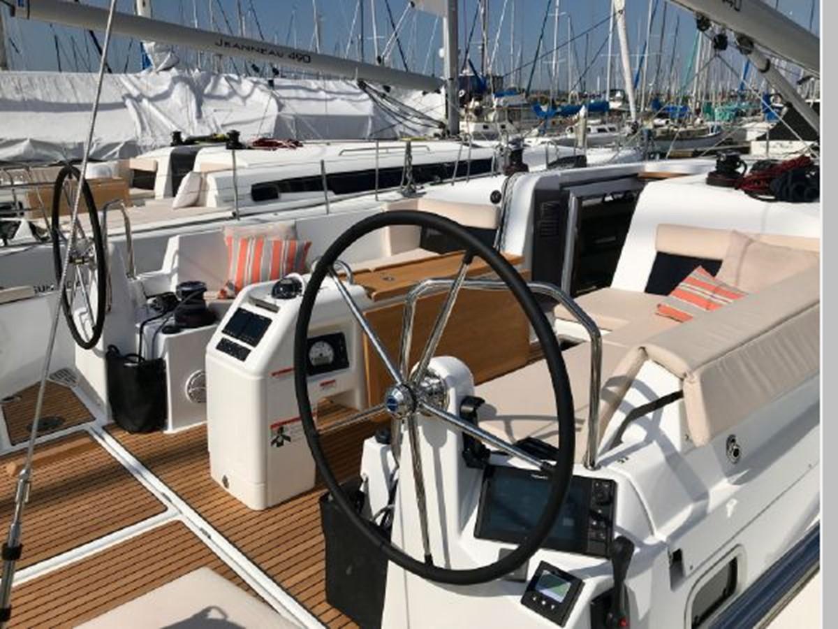 2019 JEANNEAU Sun Odyssey 440 Cruising Sailboat 2607258
