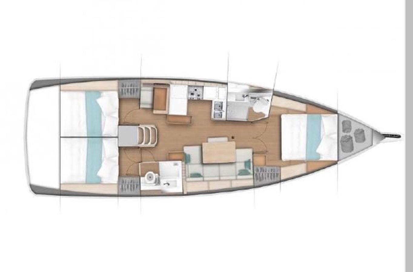 2019 JEANNEAU Sun Odyssey 440 Cruising Sailboat 2607333