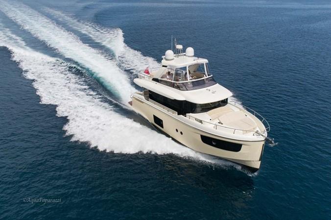 Underway - Starboard Forward 2017 ABSOLUTE 52 Navetta Motor Yacht 2608572