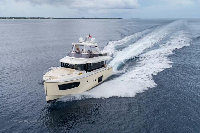 Underway - Port Forward 2017 ABSOLUTE 52 Navetta Motor Yacht 2608574
