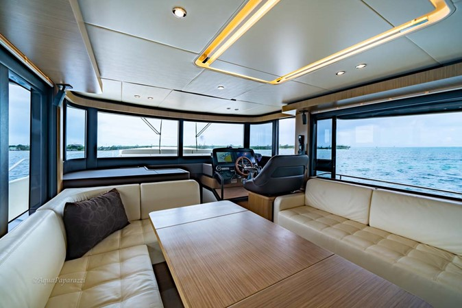 Lower Helm and Salon 2017 ABSOLUTE 52 Navetta Motor Yacht 2608577