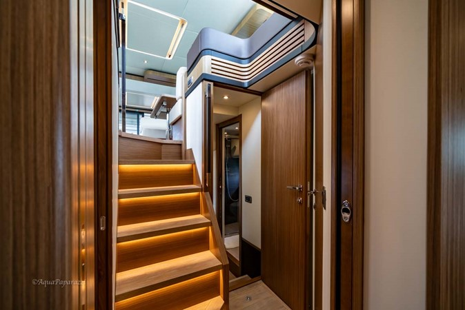 Stairs to Staterooms 2017 ABSOLUTE 52 Navetta Motor Yacht 2608582