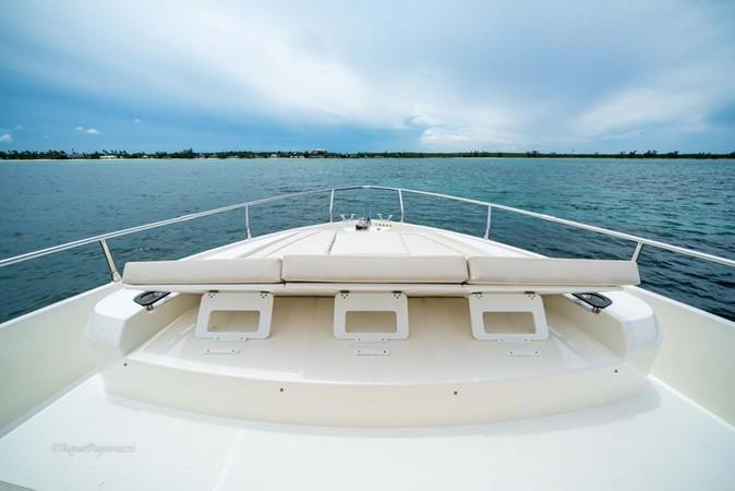 Foredeck Sunpad Headrests 2017 ABSOLUTE 52 Navetta Motor Yacht 2608600