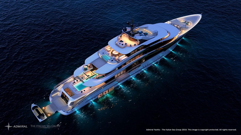 2022 Admiral - The Italian Sea Group 2022 Motor Yacht 2614411