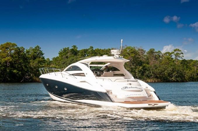 2007 55 Sunseeker Predator Transom 2007 SUNSEEKER 55 Predator Motor Yacht 2612608
