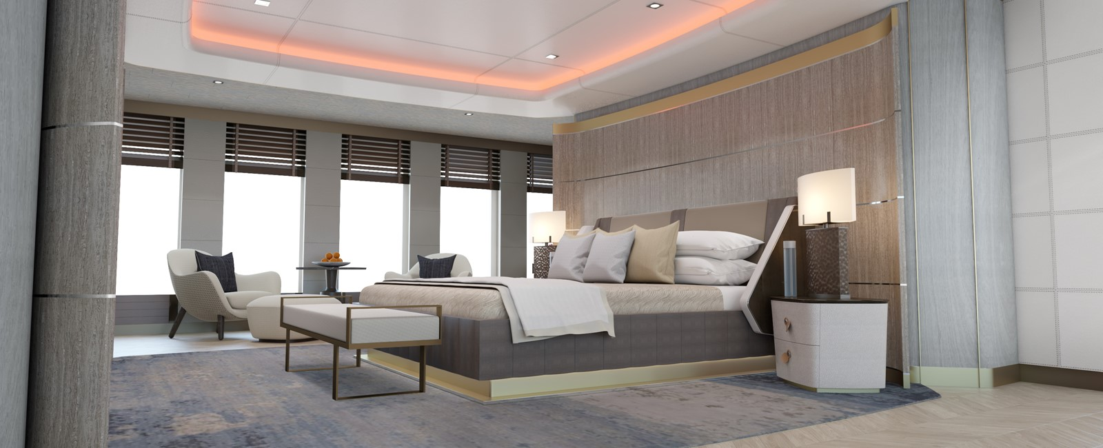 Owners stateroom 2020 HEESEN YACHTS  Motor Yacht 2608975
